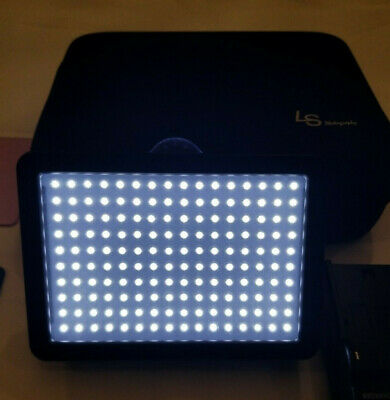 Dimmable CN-160 LED Video Light Panel with Battery and Charger and Bag