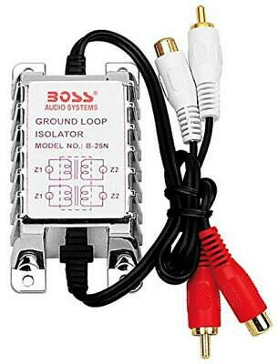 Ground Loop Isolator | BOSS Audio B25N Noise Filter for Car Systems