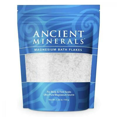 Ancient Minerals Magnesium Bath Flakes of Pure Genuine Zechstein Chloride -...