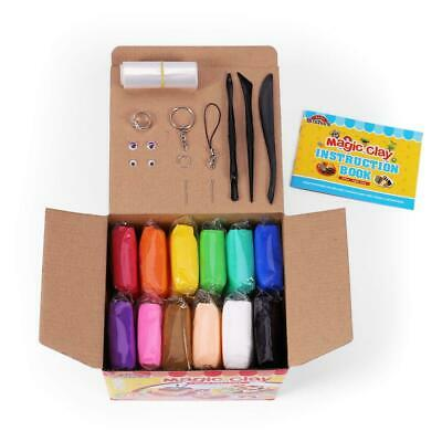 Sago Brothers Modeling Clay Air Dry Ultra Light Molding Magic 24 Colors,...