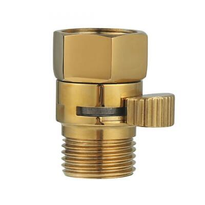 Brass Shut Off Valve Shower Flow Control G 1/2 for Hand Shower, Head, and...