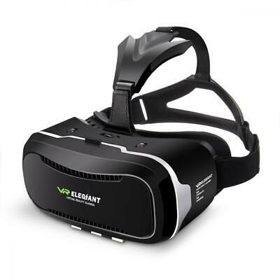 Virtual Reality Headset, ELEGIANT 3D VR Glasses Box for Movies Video Games...