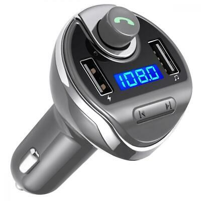 Criacr Bluetooth FM Transmitter, Wireless in-Car Transmitter Radio Adapter...