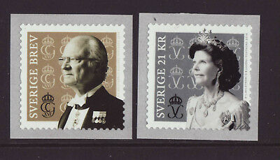 Sweden 2019 MNH - King Carl Gustaf and Queen Silvia - set of 2 stamps
