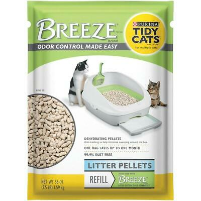 Tidy Cats Purina Breeze Cat Litter Pellets Refill for Multiple 3.5 lb. Pouch