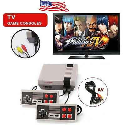 Retro Mini TV Console Classic 620 Games Built-in Games 2 Controller Kid Gift US