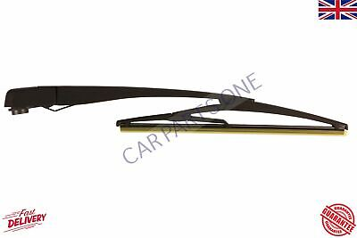 Rear Windscreen Window Wiper Arm+Blade Set For Vauxhall Corsa D Mk4 2006-2012