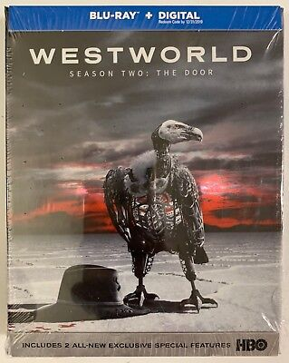 Westworld Season 2 The Door Blu Ray 3 Disc Set Digipack Free World Wide Shipping