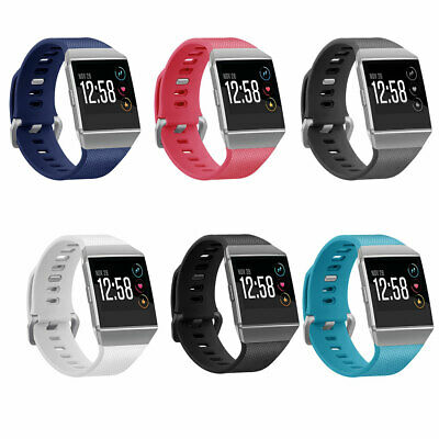 For Fitbit Ionic Watch Replacement Silicone Rubber Band Sports Wrist Band Strap