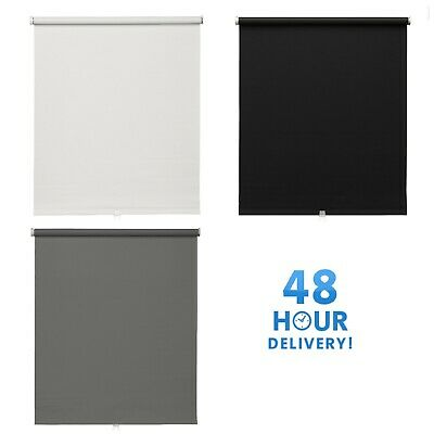 TUPPLUR Block-out roller blind IKEA white black grey - Various sizes available