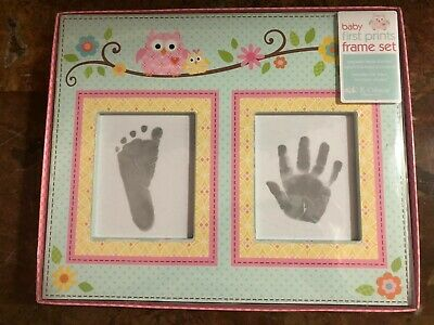 Baby Hand Foot Print Keepsake Dena Happi Tree  Wall Art, Pink (Discontinued