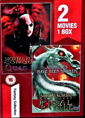 2 Movies In 1 Mortal Kombat Conquest Final Battle & Quanchi Fantasy Collection