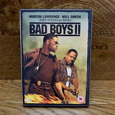 Bad Boys 2 DVD 2 Disc Box Set Will Smith Martin Lawrence Action Movie bonus feat