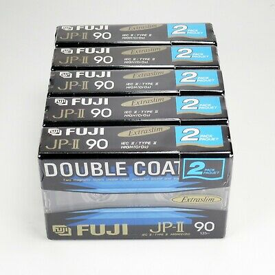 10 x Fuji JP-II 90 (1992-1995) - Type II/Chrome - Factory Sealed - Made in Japan
