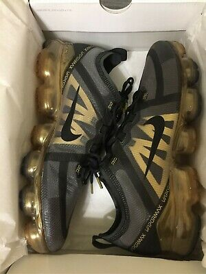Men's Shoes Air VaporMax 2019 Black/Metallic Gold/Black AR6631-002