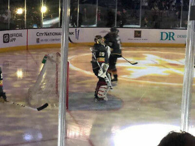(2) Tickets Sec 2 Row D Vegas Golden Knights VS Arizona Coyotes 4/4/19 AISLE
