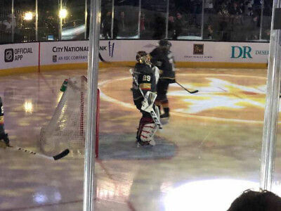 (2) Tickets Sec 2 Row D Vegas Golden Knights VS Edmonton Oilers 4/1/19 AISLE