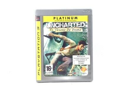 Juego Ps3 Uncharted: Drakes Fortune Ps3 4428599