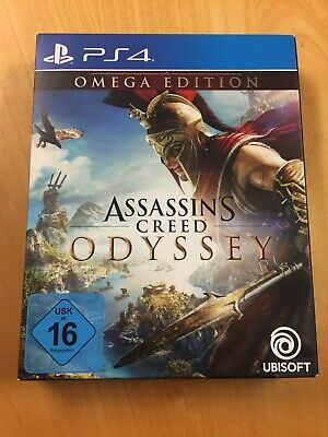 Assassin's Creed Odyssey - Omega Edition (Sony PlayStation 4, 2018)