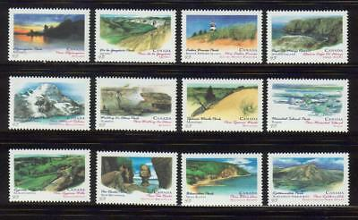 1993 Canada SC# 1472-1483 - Canada Day Provin.&Territorial Parks Lot# 245 M-NH
