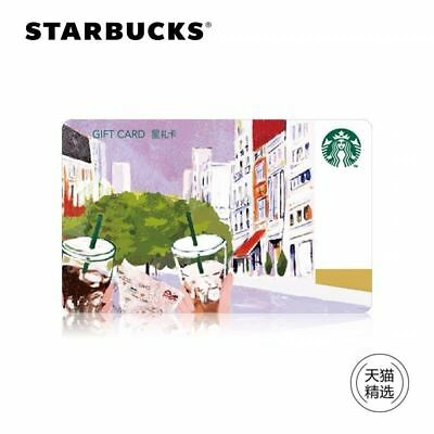 New Starbucks 2018 China Coffee Language Cold Brew Coffee Gift Card