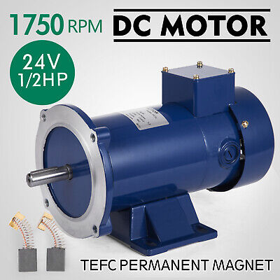 DC MOTOR 1//2HP 56C Frame 90V//1750RPM TENV MAGNET Generally Smooth Dominate