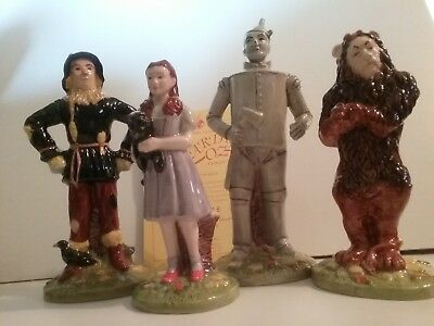 Royal Doulton Wizard of Oz set figurines 60th anniversary 1939-1999 mint in box