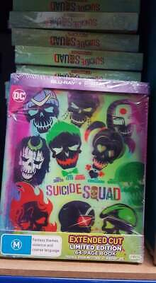 Suicide Squad Blu-ray (Limited Edition + 64 Page Book) Job Lot Wholesale x 15