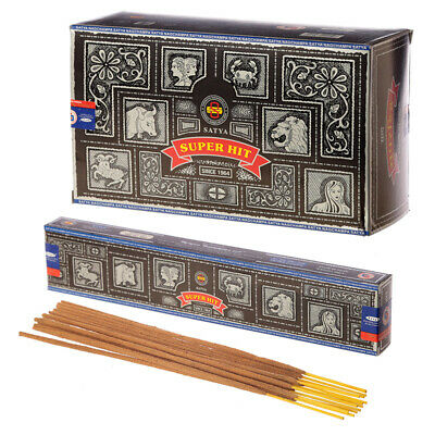 Satya Sai Baba Nag Super Hit Champa Original Incense Sticks 12 packs (case) box
