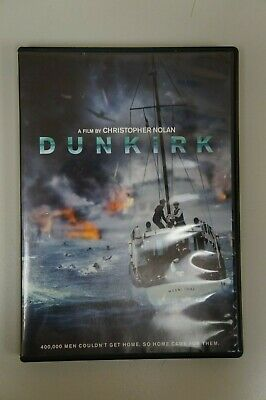 DUNKIRK film by Christopher Nolan,  (DVD, 2017) NEW Free Shipping!!