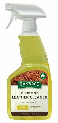 Oakwood Glycerine Leather Cleaning Spray for Leather Goods - 500ml