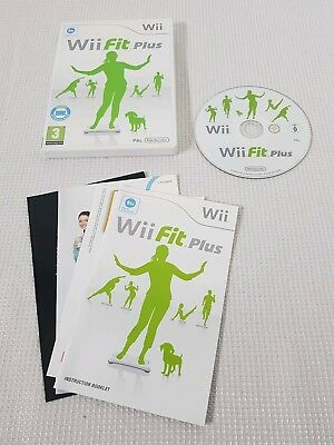 nintendo wii fit plus instruction manual
