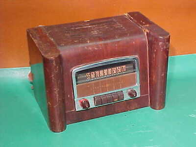 Tube / Wood Table Radio, General Electric, L-660, for Parts / Restoration