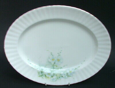 Royal Stafford Blossom Time Pattern Oval Serving Platter 33cm - Looks in VGC