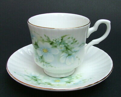 Royal Stafford Blossom Time Pattern 120ml Coffee Cups & Saucers - Look in VGC