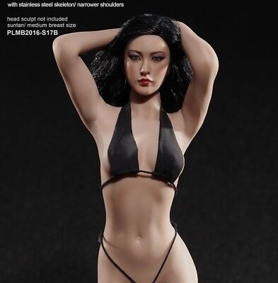 Phicen TBLeague S17B female seamless steel 1:6 scale body 12inch +free gift UK