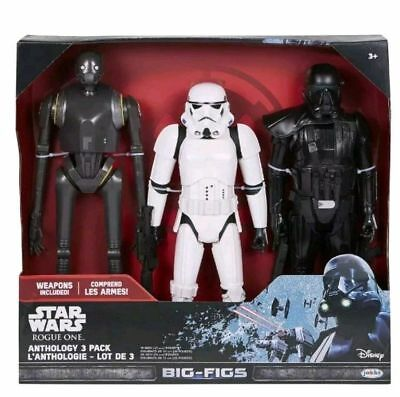 Star Wars Rogue One 4 Pack Action Figure Set avec armes Brand New /& Sealed