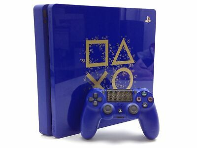 Consola Ps4 Sony Ps4 Slim 500 Gb Days Of Play Azul Edition 4430725