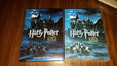 Harry Potter The Complete 8-Film Collection (DVD 2011, 8-Disc Set)