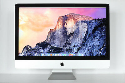 Apple iMac 27-inch 3.5GHz Quad Core i7 32GB RAM 1TB HD NVIDIA 775M 2GB A1419
