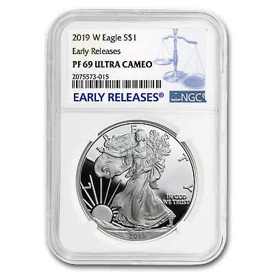 2019-W Silver American Eagle PF-69 NGC (Early Releases) - SKU#177834