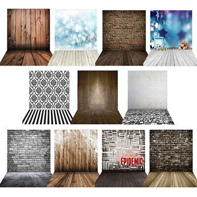 1.5*2m Big Studio Photography Background Backdrop Fashion Wood Wooden Floor T7Q3