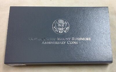 1991 US Mint Mount Rushmore Commemorative 2-Coin Set - Proof
