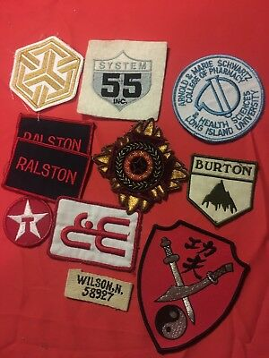 Lot Of Various Movie/Tv Production Patches   (Screen Used, Prop, Wardrobe)