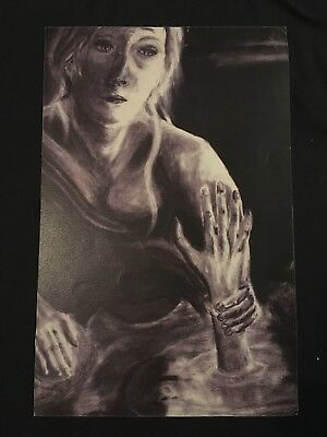 Shadowhunters Clary's Drawing/Painting Prop (TV, Movie, Screen Used, Original)