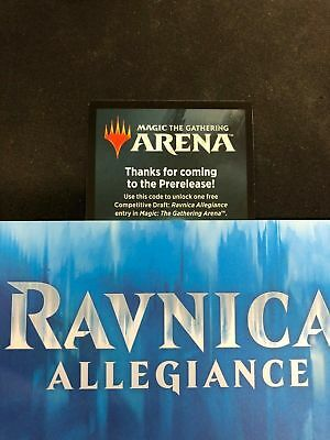 EMAIL Online Code Ravnica Allegiance Booster Draft Code 24 HOUR MTG Magic Arena