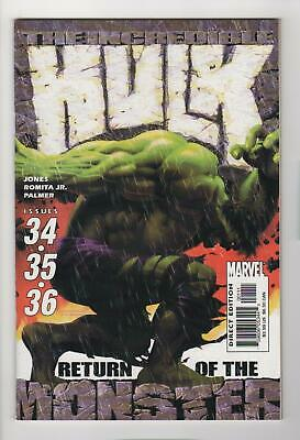 INCREDIBLE HULK Return of the Monster issues 34 35 36 (comic format) NM 9.4 0114