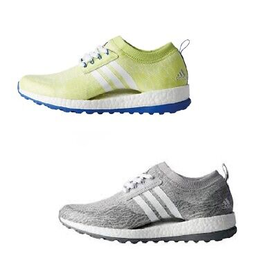 85570276a03fa ADIDAS WOMEN S PURE Boost XG Ladies Golf Shoes F33691 Grey Two White ...