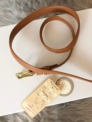 Vintage Dh Holmes Leather Belt With Original Tag New Orleans Shopping Nostalgia