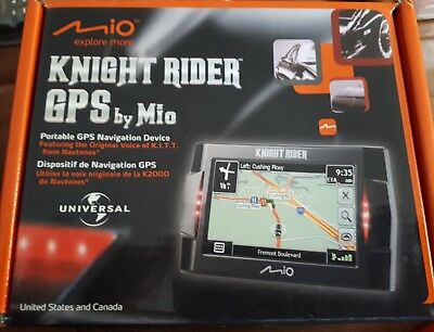 Knight Rider K.I.T.T. GPS by Mio Mint Condition NIB